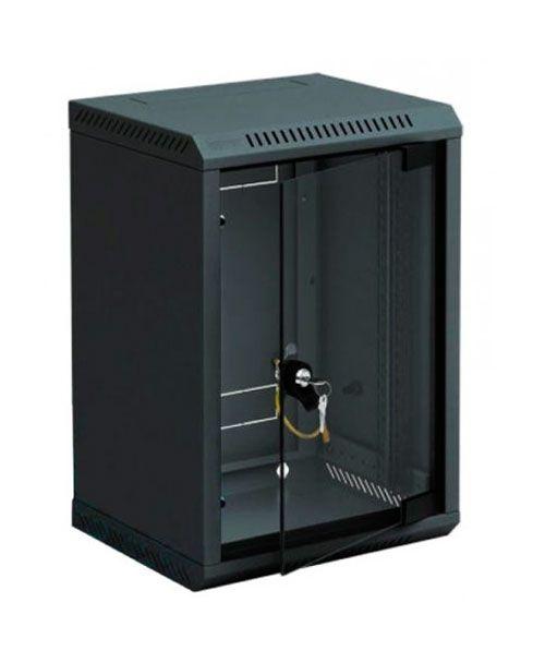 10''-Wandverteiler RBA, 6 HE, BxT 310 x 260 mm, schwarz