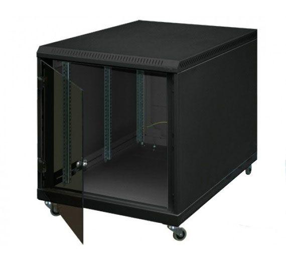 """19"""" Untertisch-Netzwerkschrank RCA, 12 HE, 600 x 1000 mm, schwarz"""