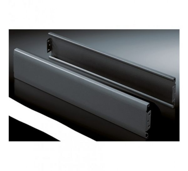 Rittal Blenden für Sockel Flex-Block geschlossen 800 mm schwarz