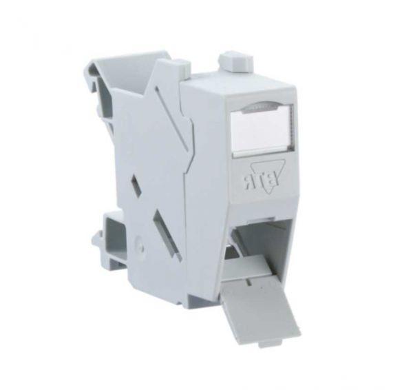 BTR REG Modulträger für 1 E-DAT modul - Hutschiene Montage