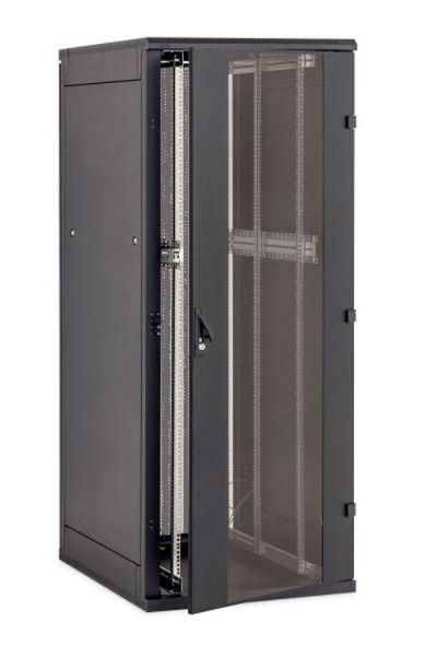 19 Zoll Netzwerkschrank RZA 45 HE BxT 800 x 900 mm schwarz