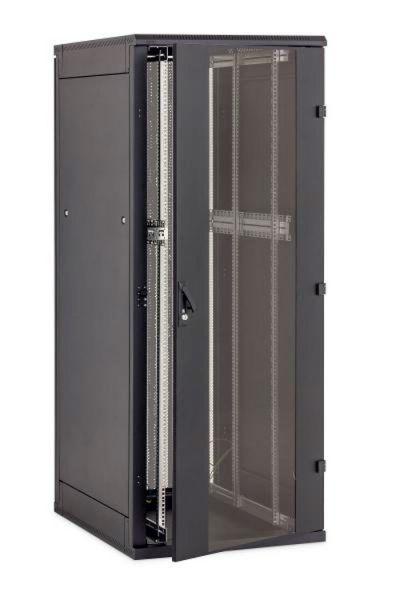 19 Zoll Netzwerkschrank RZA 27 HE BxT 800 x 800 mm schwarz
