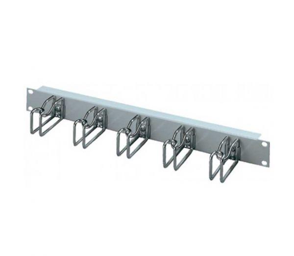 Rittal 19 Zoll Rangierpanel 5 Metallbügel 85 x 125 mm grau