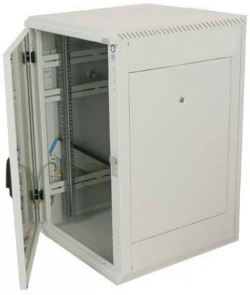 19 Zoll Netzwerkschrank RMA Triton - 18 HE - BxT 800 x 1000 mm - lichtgrau - RückWAND