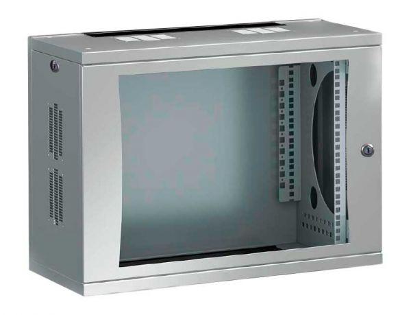 "Rittal 19"" Wandgehäuse FlatBox 9 HE 400 mm Tiefe - 7507.010"