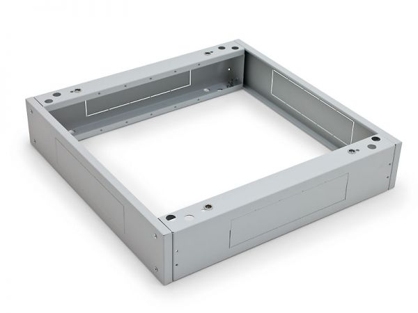 Sockel für Triton Netzwerkschränke 600 x 900 mm, lichtgrau RAL 7035