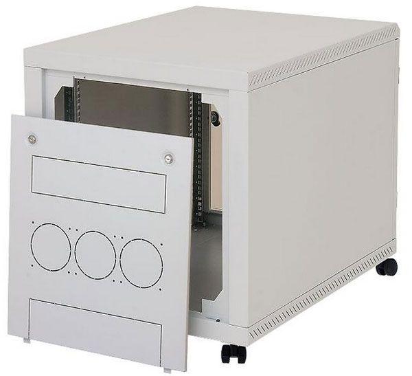 """19"""" Untertisch-Netzwerkschrank RCA, 12 HE, 600 x 900 mm, lichtgrau RAL 7035"""