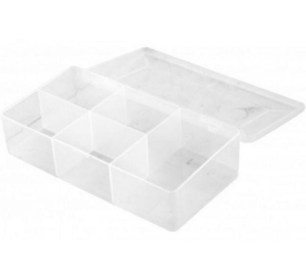 Sortimentsbox für Kleinteile mit 5 Fächern 180 x 95 x 40 mm