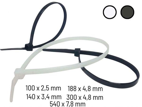 Kabelbinder Sortiment VE 100 St.
