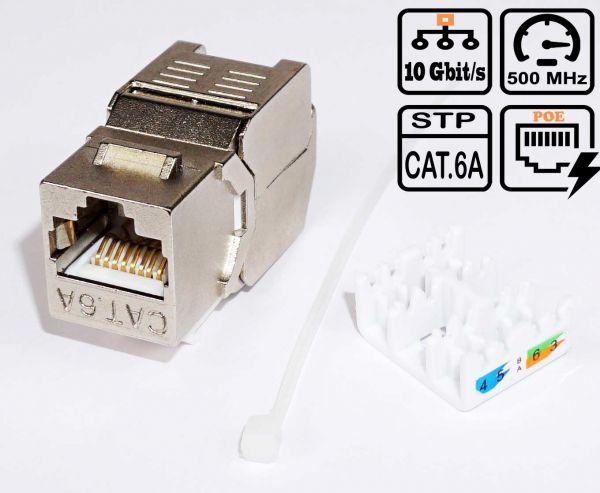 CAT.6A Keystone Modul werkzeuglos