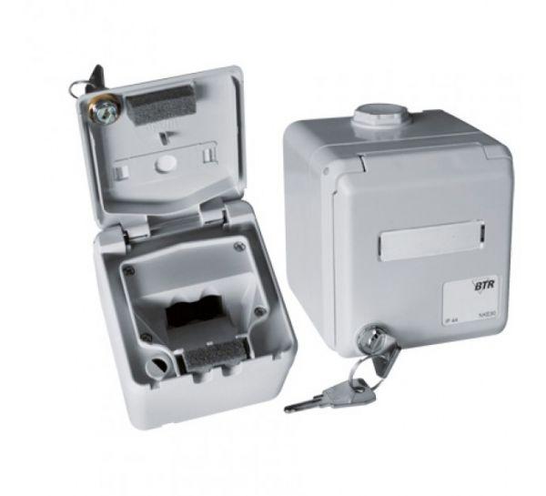 MetzConnect BTR Aufputzgehäuse IP44 1309460003-I E-DAT