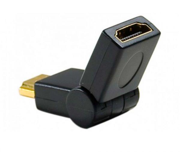 HDMI Adapter mit abwinkelbarem Stecker 180 Grad