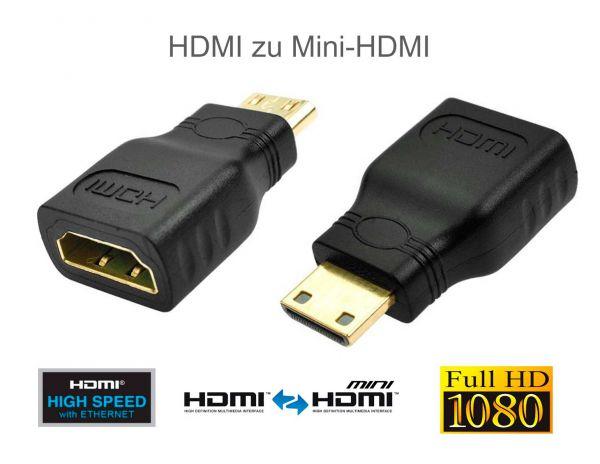 Mini HDMI auf HDMI Adapter