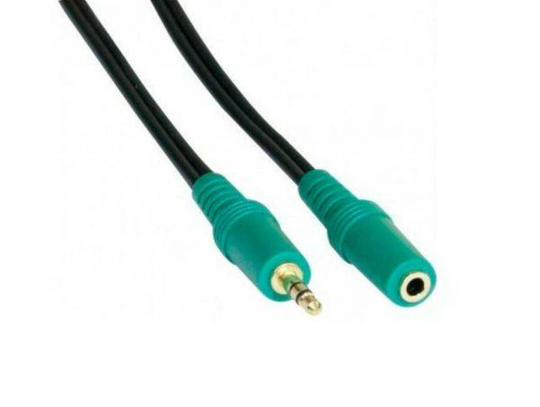 Klinken Audio Verlängerungskabel 3,5 mm Stereo