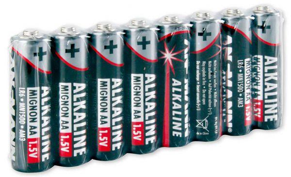 Ansmann Red-Line Batterie AA 8 St.