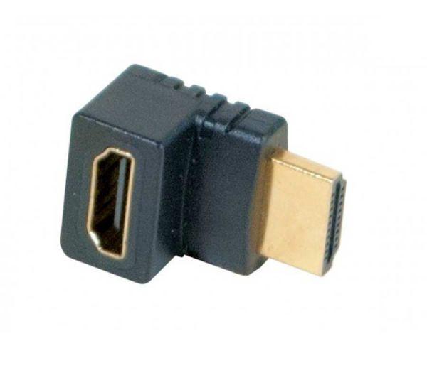 HDMI Adapter Stecker auf Buchse 90 ° abgewinkelt