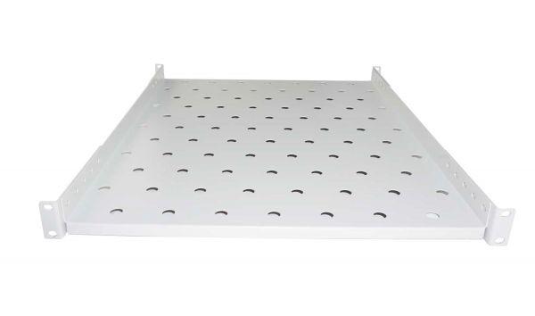 19 Zoll Schwerlastboden - 725 mm Tiefe – hellgrau - 120 kg