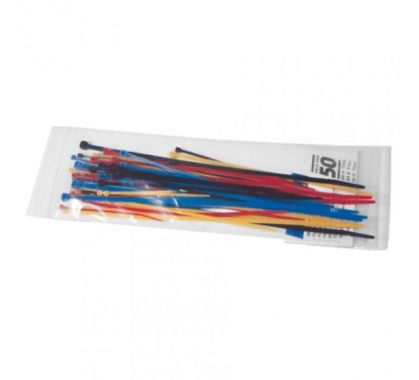 Kabelbinder Sortiment, farbig sortiert - Set 1 bis 4