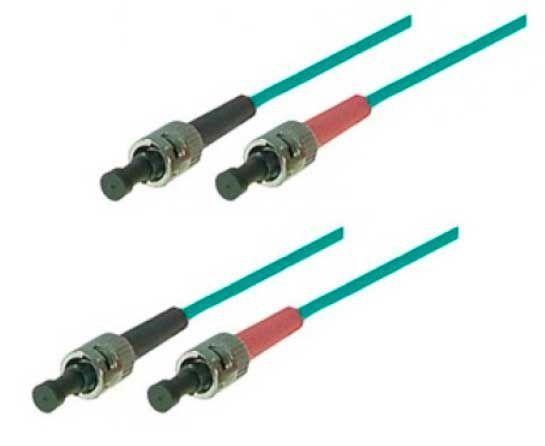 LWL Patchkabel ST-ST OM3-Faser 50/125 µm